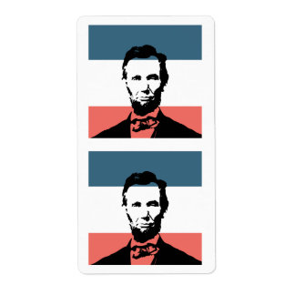 Abraham Lincoln 16th President Shipping Labels