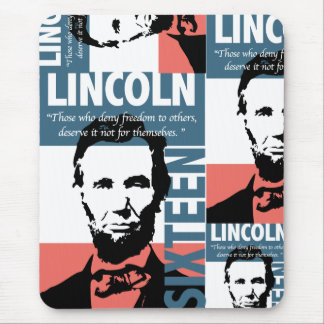Abraham Lincoln 16th President Mouse Pad