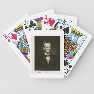 Abraham Lincoln, 16th President of the United Stat Bicycle Playing Cards