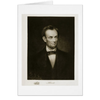 Abraham Lincoln, 16th President of the United Stat Card