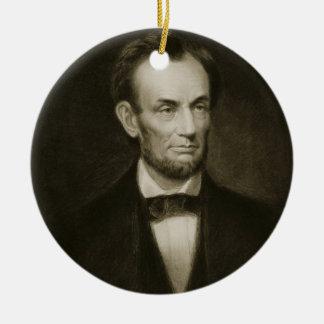 Abraham Lincoln, 16th President of the United Stat Ceramic Ornament