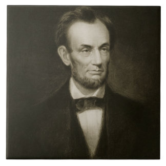 Abraham Lincoln, 16th President of the United Stat Ceramic Tile
