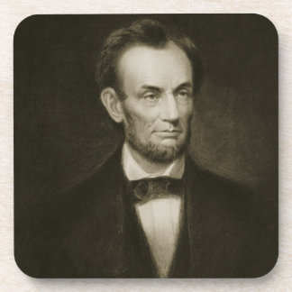Abraham Lincoln, 16th President of the United Stat Drink Coaster