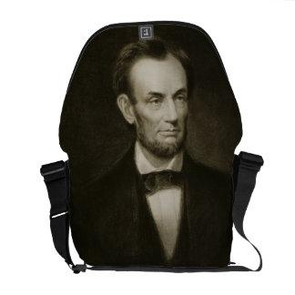 Abraham Lincoln, 16th President of the United Stat Messenger Bag