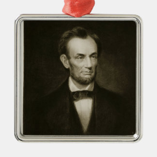 Abraham Lincoln, 16th President of the United Stat Metal Ornament