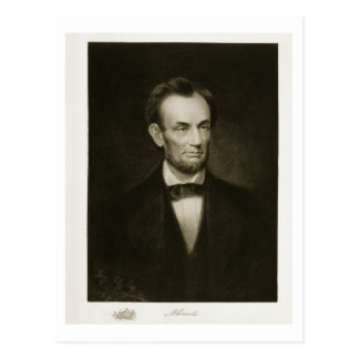 Abraham Lincoln, 16th President of the United Stat Postcard