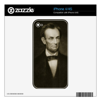 Abraham Lincoln, 16th President of the United Stat Skins For The iPhone 4S