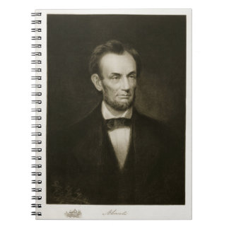 Abraham Lincoln, 16th President of the United Stat Spiral Notebook