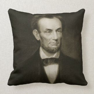 Abraham Lincoln, 16th President of the United Stat Throw Pillow