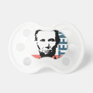 Abraham Lincoln 16th President Pacifier