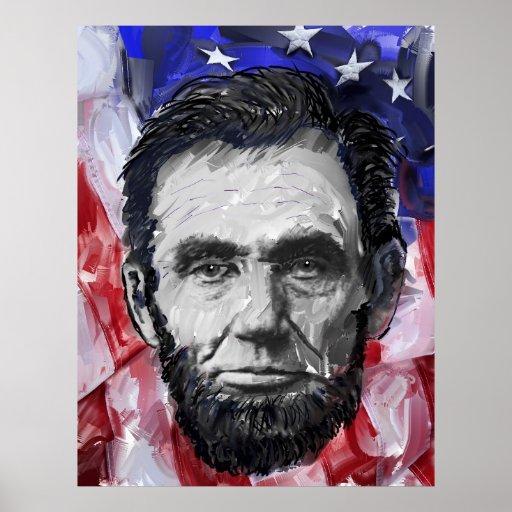 ABRAHAM LINCOLN - 16th U S PRESIDENT Poster