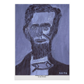 Abraham Lincoln (1809-65) Póster