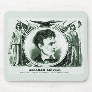 Abraham Lincoln 1860 Election Mouse Pad