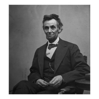 Abraham Lincoln 1865 Poster