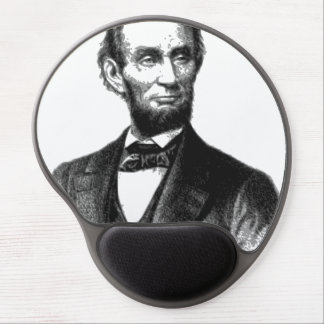 """Abraham Lincoln 1865 """"The great emancipator"""" Gel Mouse Pad"""