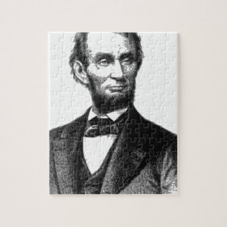 """Abraham Lincoln 1865 """"The great emancipator"""" Jigsaw Puzzle"""