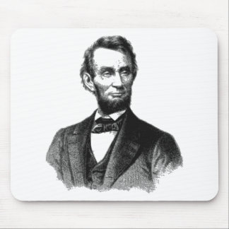 """Abraham Lincoln 1865 """"The great emancipator"""" Mouse Pad"""