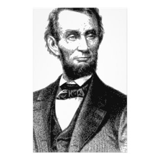 "Abraham Lincoln 1865 ""The great emancipator"" Stationery"