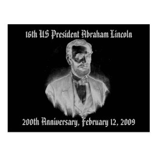 Abraham Lincoln 200th Anniversary Postcard