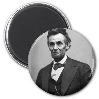 Abraham Lincoln 2 Inch Round Magnet