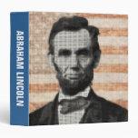 Abraham Lincoln 3 Ring Binder