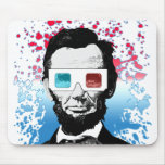 Abraham Lincoln - 3D Mouse Pads