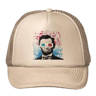 Abraham Lincoln - 3D Trucker Hat