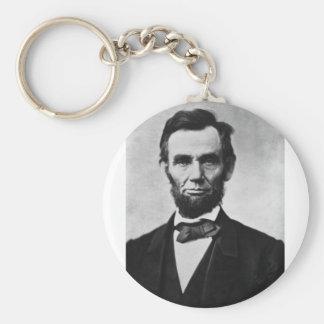 Abraham Lincoln 8 Keychain