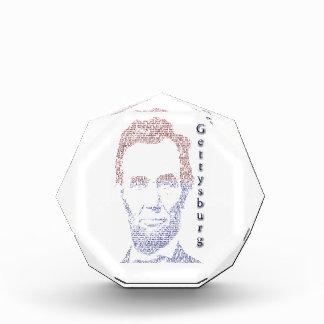 Abraham Lincoln Acrylic Award