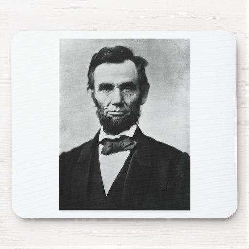 Abraham Lincoln Alfombrillas De Raton