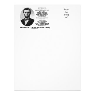 Abraham Lincoln All Men Should Be Free Slavery Letterhead