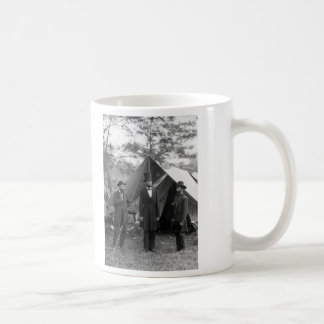 Abraham Lincoln Allan Pinkerton John A. McClernand Coffee Mug