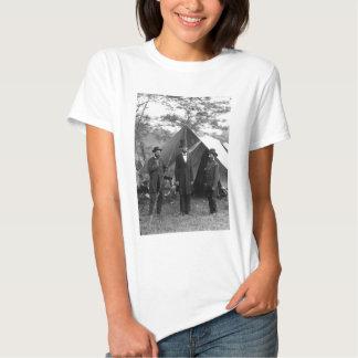 Abraham Lincoln Allan Pinkerton John A. McClernand T Shirt