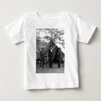 Abraham Lincoln Allan Pinkerton John A. McClernand Tee Shirt