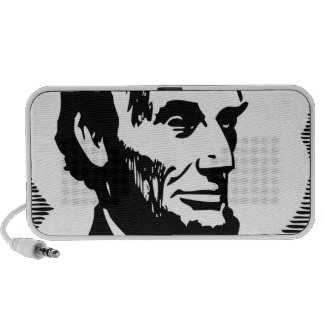 Abraham Lincoln Notebook Altavoces