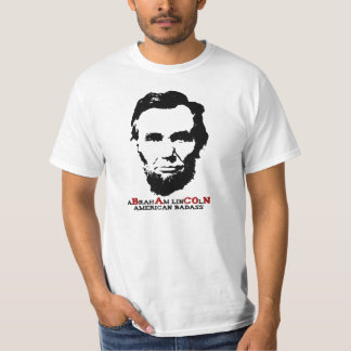 Abraham Lincoln - American Badass Tee Shirt