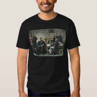 Abraham Lincoln and His Cabinet T Shirt