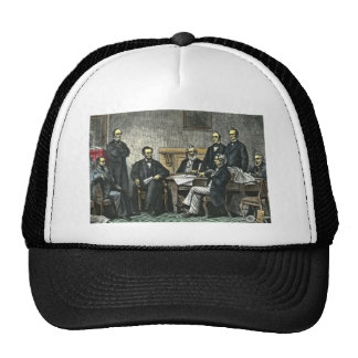 Abraham Lincoln and His Cabinet Trucker Hat