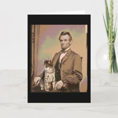 Kawaii Kitties  Abraham_lincoln_and_his_cat_dixie_card-p137569920052475748qt1t_400