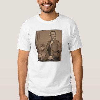 "Abraham Lincoln and his cat ""Gloria"" Tshirt"