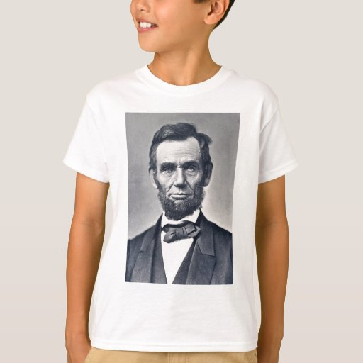 Abraham lincoln apparel t shirt zazzle for T shirt printing lincoln