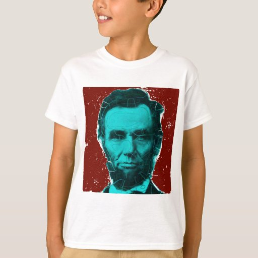 Abraham lincoln art shirt unique design t shirt zazzle for T shirt printing lincoln