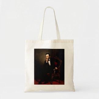 Abraham Lincoln Canvas Bags