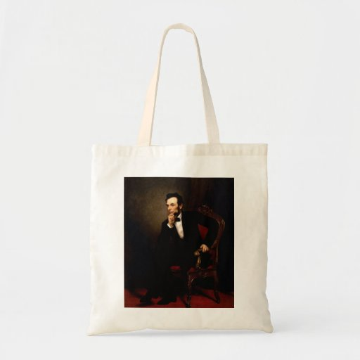 Abraham Lincoln Canvas Bags