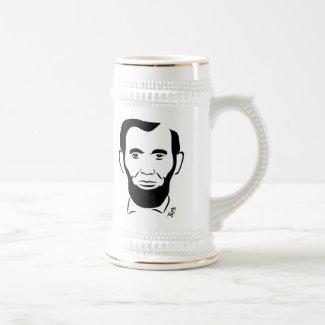 Abraham Lincoln Beer Mug