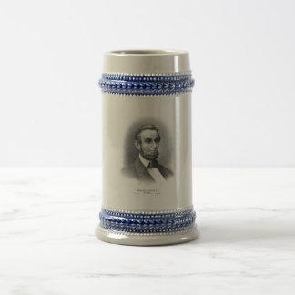 Abraham Lincoln Beer Stein