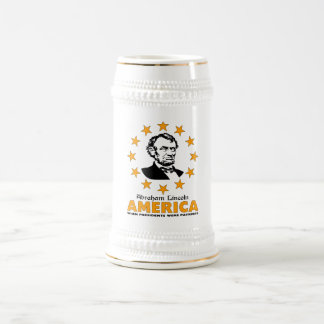 Abraham Lincoln Beer Stein