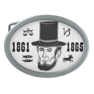 Abraham Lincoln belt buckle