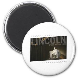 Abraham Lincoln bicentenario Imán Redondo 5 Cm