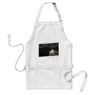 Abraham Lincoln bicentennial Adult Apron